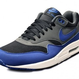 Nike - nike-air-max-1-blue-black-1