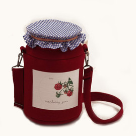 krukrustudio - Raspberry Jam Felt Bag