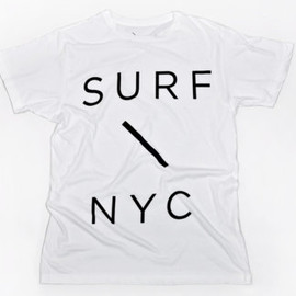 SATURDAYS SURF - Surf Slash T-Shirt / WHITE