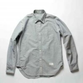 soe shirts - INDIGO OXFORD BASIC B.D COLLAR