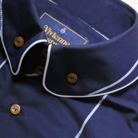 Vivienne Westwood MAN - Stripe Shirt in Navy