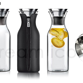evasoro - Fridge carafe 1.0L black