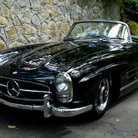 Mercedes-Benz - 300SL Roadster Black