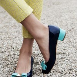 Ferragamo - navy and blue