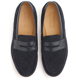 J. M. Weston invite Charlie Casely-Hayford - Loafer/navy