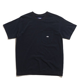 THE NORTH FACE PURPLE LABEL - High Bulky H/S Pocket Tee-Charcoal