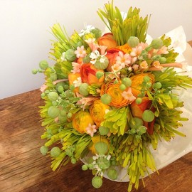 Gertrude Florist -  Wedding Toss Bouquet