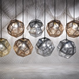 Tom Dixon - Etched Pendant Lamp Shades