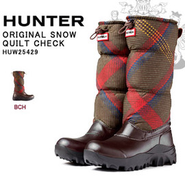 HUNTER - ORIGINAL SNOW QUILT CHECK
