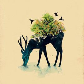Budi Satria Kwan - Watering (A Life Into Itself) Art Print