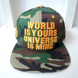 DGK - DGK / THE WORLD IS YOURS SNAP BACK CAP CAMO