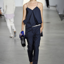Draped Pocket Trousers