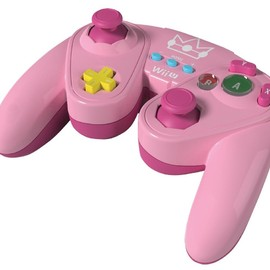 Nintendo - Wired Fight Pad for Wii U - Princess Peach