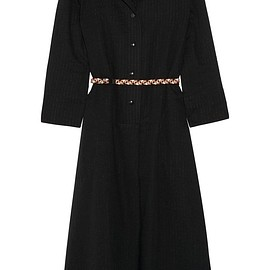 Eres - + Véronique Leroy Lee belted cotton-gauze midi dress