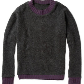 The Elder Statesman - Trim Cashmere Sweater