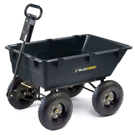 Gorilla Carts - Heavy Duty Poly Dump Cart
