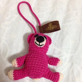 Vivienne Westwood - Bear bag charm, key holder