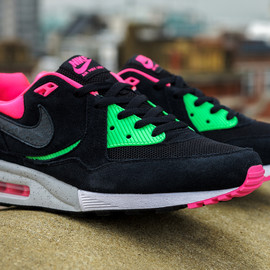 Nike, Size? - Air Max Light - Black/Pink/Mint