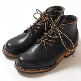 "VIBERG - VIBERG(ヴァイバー) 5""SERVICE BOOT Chrome Excel Black Vibram 705 Sole VB-SERVICE"