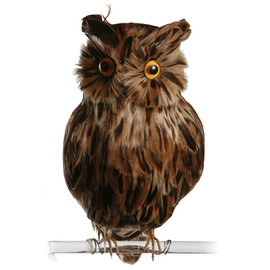 PUEBCO - Artificial Birds Owl Brown(L)