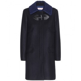 See by Chloé - Wool coat with textured collar