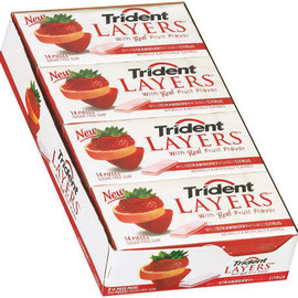 Trident - Layers Gum Wildstrawberry Tangy Citrus
