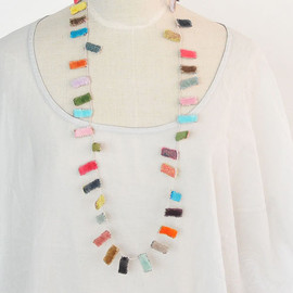 SOPHIE DIGARD - LINEN NECKLACE