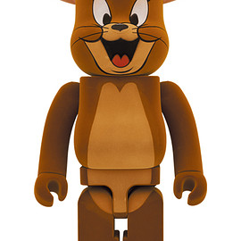 MEDICOM TOY - BE@RBRICK JERRY フロッキー Ver. 1000%(TOM AND JERRY)