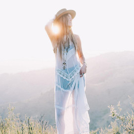 Free People - Between The Lines Maxi, Topanga Distressed Leather Rancher, Side Zip High Rise Short