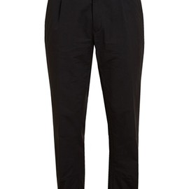 ANN DEMEULEMEESTER - Cropped Soft Cotton Trousers