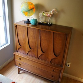 Broyhill Brasilia collection dresser.