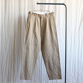 YAECA - Chino Cloth Pants - tac tapared #khaki