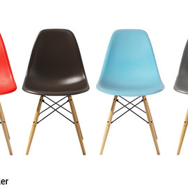 Herman Miller - Eames Shell Side Chair DSW Maple Legs