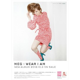 MEG - WEAR I AM - POSTER