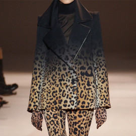 Givenchy - leopard jacket