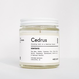 The Contents Co. - CEDRUS-Botanic Candle
