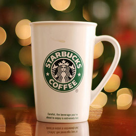STARBUCKS COFFEE - Ceremic To Go Mug TALL 12oz
