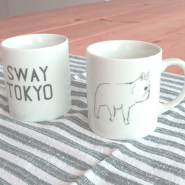 "CLASKA Gallery and Shop ""DO"" - SWAY TOKYO マグ"