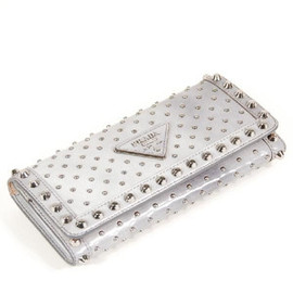 PRADA - Studs Long Wallet