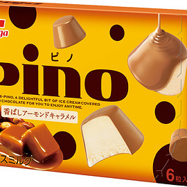 Morinaga - pino Almond Caramel Ice cream