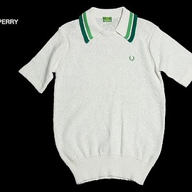 Fred Perry - スキッパーコットンポロニット