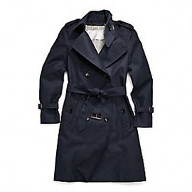 Coach - classic long trench