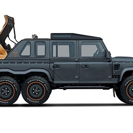 Kahn Design, Land Rover - Flying Huntsman 6x6 Soft-Top