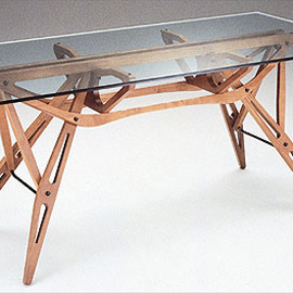 Carlo Mollino - Rare table, sold for 3,8 million$ to Cristina Grajales Gallery, NY