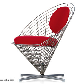 Verner Panton - Wire Cone Chair