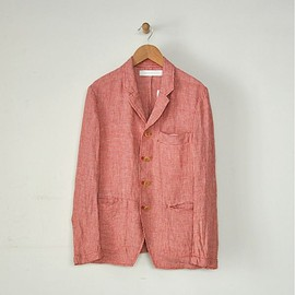 ASEEDONCLOUD - Jacket Linen Hounds Tooth