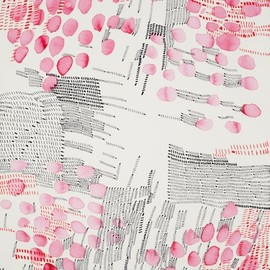 Hung Kei Shiu - untitled, 2011, ink, watercolor on paper