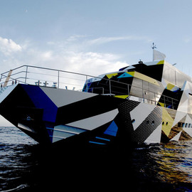 "Jeff Koons and Ivana Porfiri - Dakis Joannou's ""Guilty"" Yacht by Jeff Koons and Ivana Porfiri"