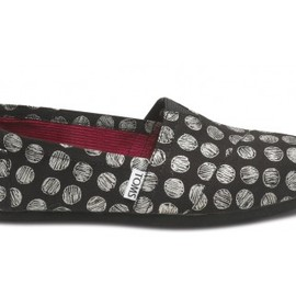 TOMS - Hand Drawn Dots Metallic Women's Vegan Classic
