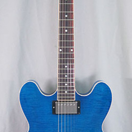 Gibson - CUSTOM SHOP ES-335 Figured Blue